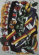 Fernand Leger The Tree in the Ladder  1943