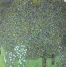 Roses under the Trees 1905 - Gustav Klimt