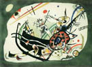 Wassily Kandinsky Study for Green Border 1920