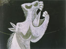 Pablo Picasso Head of a Horse