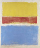 Mark Rothko Untitled Yellow Red and Blue 1953