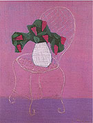 Chair with Lilacs - Milton Avery