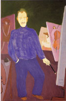 Self-Portrait - Milton Avery