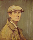 L-S-Lowry Self Portrait 1925