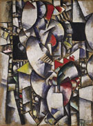 Fernand Leger Nude Model in the Studio  c1912
