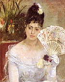 At the Ball 1875 - Berthe Morisot