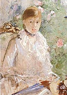 Berthe Morisot Summer Young Woman by a Window 1878