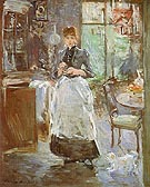 Berthe Morisot In the Dining Room 1886