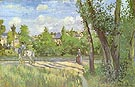 Sunlight on the Road Pontoise 1874 - Camille Pissarro