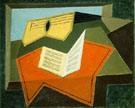 Juan Gris Guitar and Music Paper