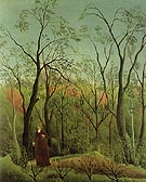 Henri Rousseau The Walk in the Forest c1888