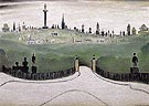 Necropolis 1947 - L-S-Lowry reproduction oil painting