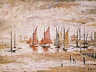 Sailing Boats 1930 - L-S-Lowry