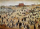July the Seaside 1943 - L-S-Lowry