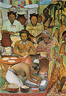 The History of Mexico Haustec Civilisation - Diego Rivera