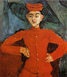 Chaim Soutine Page Boy at Maxim's 1925