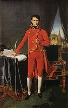 Jean-Auguste-Dominique-Ingres Bonaparte as First Consul 1804