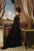 Jean-Auguste-Dominique-Ingres Queen Caroline Murat 1814