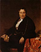 Jean-Auguste-Dominique-Ingres Jacques Louis Leblanc 1823