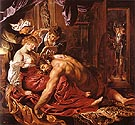 Van Dyck Samson and Delilah 1609
