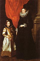 Van Dyck Geronima Sale Brignole and her Daughter