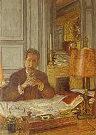 Edouard Vuillard Portrait of Philippe Berthelot 1928