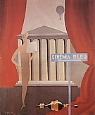 Rene Magrite The Blue Cinema, 1925