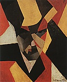 Rene Magrite Self-Portrait, 1923