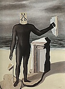 Rene Magrite Man of the Sea 1926