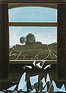 Rene Magrite The Key to the Fields 1933