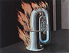 Rene Magrite The Discovery of Fire c1934
