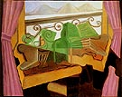 Juan Gris Open Window with Hills 1923
