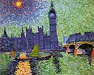 Andre Derain Big Ben London 1906
