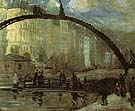 La Villette 1895 - William Glackens