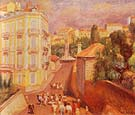 Fete Du Suquet 1932 - William Glackens reproduction oil painting