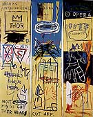 Charles the First 1982 - Jean-Michel-Basquiat