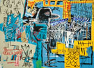 Jean-Michel-Basquiat Bird on money 1981