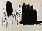 Dwellers in the Marshes - Jean-Michel-Basquiat