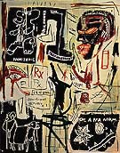 Jean-Michel-Basquiat Melting Point of Ice 1984