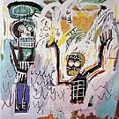 Untitled Baptism 1982 - Jean-Michel-Basquiat