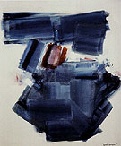 Blue Monolith 1961 - Hans Hofmann reproduction oil painting