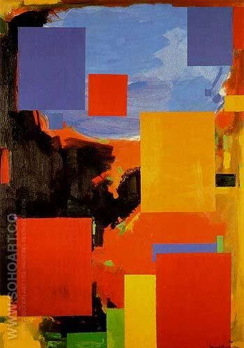 Goliath 1960 - Hans Hofmann reproduction oil painting