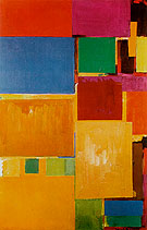 Cathedral 1959 - Hans Hofmann reproduction oil painting