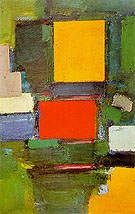 The Gate 1959 - Hans Hofmann reproduction oil painting