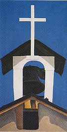Georgia O'Keeffe Church Steeple 1950