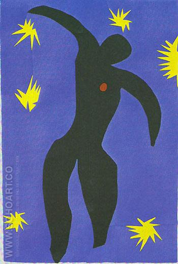 Matisse - Icarus 1947 reproduction oil painting