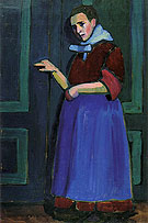 Fraulein Mathilde 1908 - Gabriele Munter
