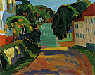 Street in Murnau 1908 - Gabriele Munter
