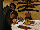 Man at a Table Kandinsky - Gabriele Munter