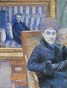 Portrait of Madame X - Gustave Caillebotte reproduction oil painting
